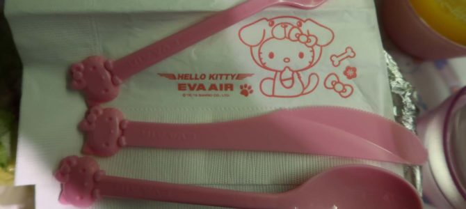 Flying the Hello Kitty Jet