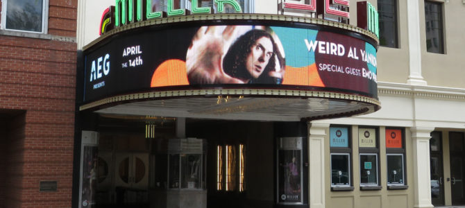 Trip Report: On Tour with Weird Al Yankovic (Day 3)