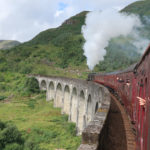 Riding the Hogwarts Express