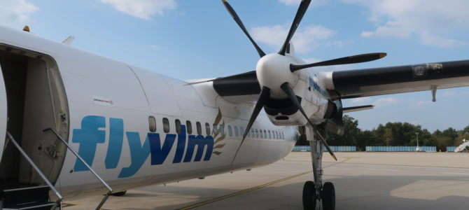 Flying with VLM from Cologne to Antwerp