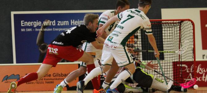 Floorball Bundesliga: DJK Holzbüttgen – ETV Piranhhas Hamburg 2:7 (1:3, 0:4, 1:0)