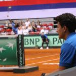 Davis Cup Serbia vs. India: Day 3