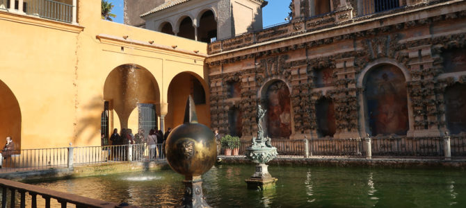 Visiting the Seville Alcazar