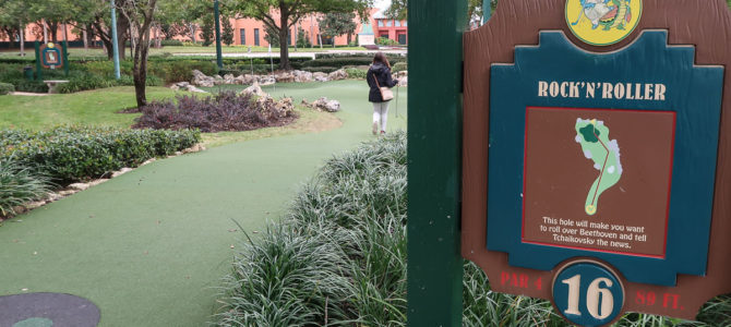 Mini Golf at Walt Disney World