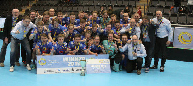 CC 2019: Men's Final: Storvreta IBK – SC Classic 3-10 (1-3, 1-3, 1-4)