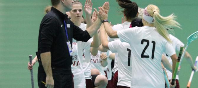 WFCQ 2019: Netherlands – Latvia 2:11 (1:5, 0:2, 1:4)
