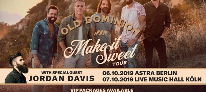 Country Music Concert Summer 2019 in Germany – a small Boom?
