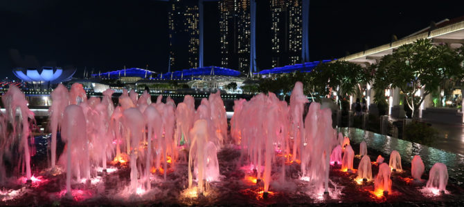 """Fullerton & Customs House – Marina Bay from """"the other side"""""""