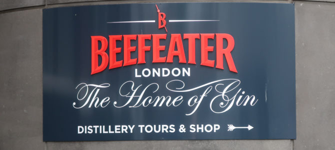 Beefeater Gin Distillery Tour (London)