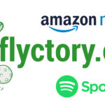 Flyctory.com on Spotify and Amazon Music Unlimited