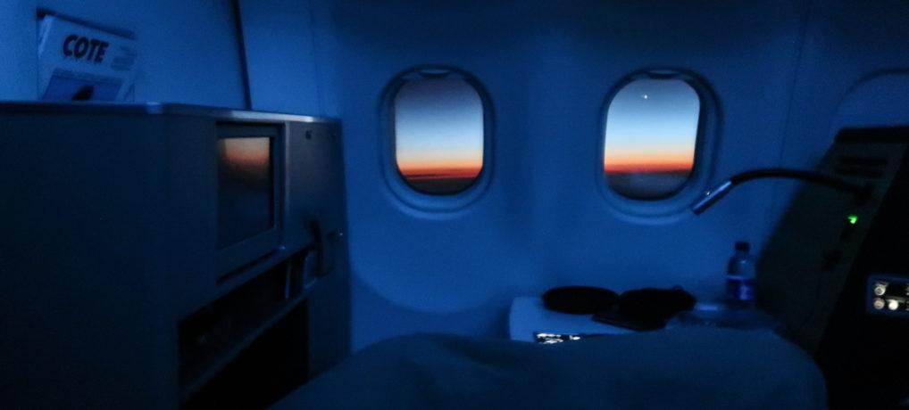 Swiss A330-300 Business Class from Zurich to Dubai