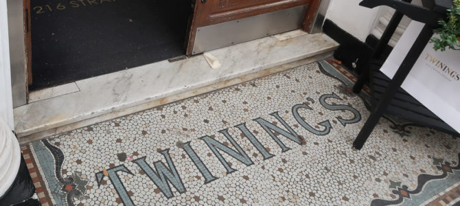 Twinings – The Oldest Tea Room in London