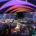 The Christmas Market at Munich Airport