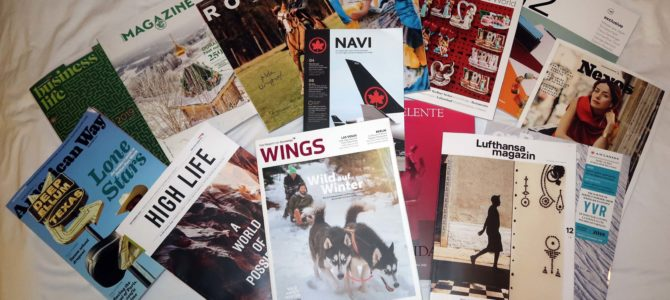 Entertaining or not? An Inflight Magazine Comparison