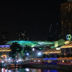 Clarke Quay (Singpore) by Night (Pictured Story)