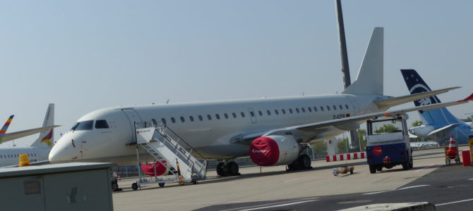 Cologne/Bonn Airport during Covid-19 Times (Pictured Story)