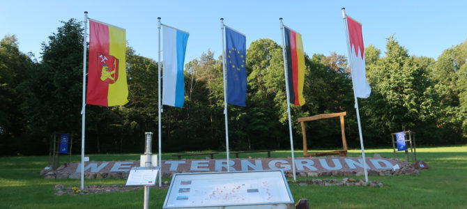 The German Midpoints of the European Union