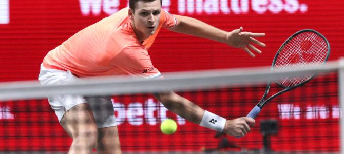 bett1HULKS Indoors 2020: Hubert Hurkacz (POL) vs. Mischa Zverev (GER) 6-4 6-3