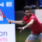bett1HULKS Championship: Jordan Thompson (AUS) - Gilles Simon (FRA) 3-6 5-7