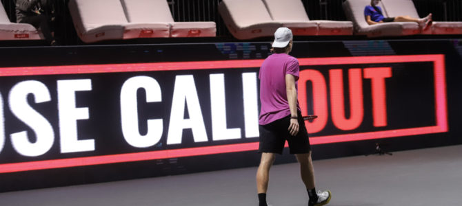 Hawk-Eye Live – the End of the Tennis Line Judges?