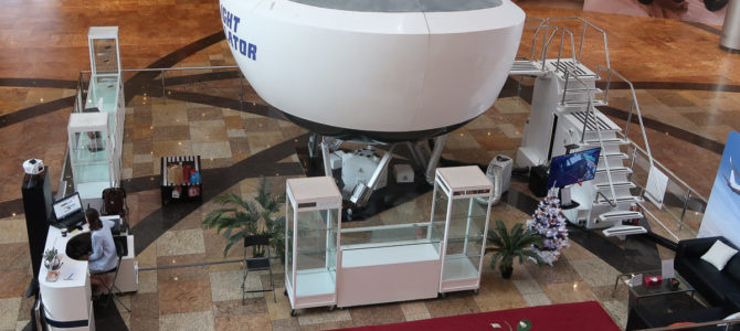 Dream Aero Boeing 737 NG Simulator Dubai