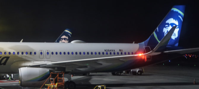 Alaska Airlines A320 Domestic First Flight Experience