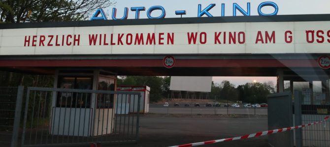 Cologne DRIVE IN Movies – More than the Covid-19 Alternative