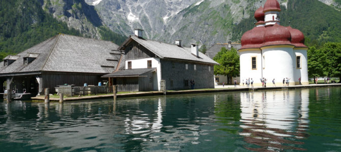 A Boat Trip on the Königssee