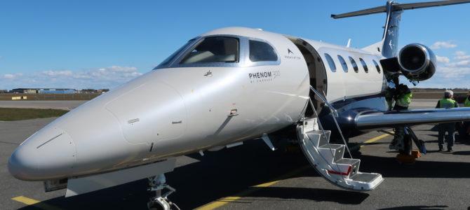 Flying the PAD Aviation Embraer Phenom 300