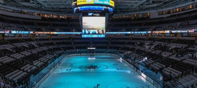 A San Jose Sharks Match at SAP Center