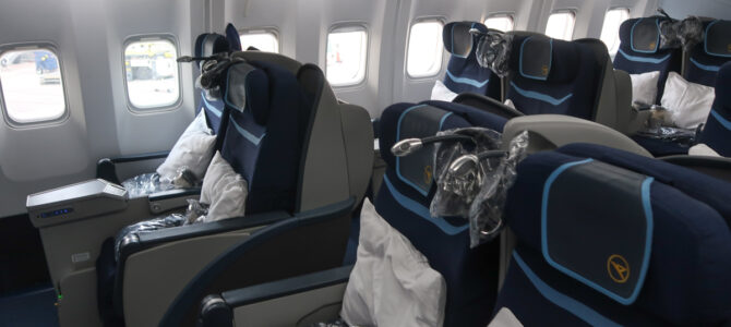Condor Boeing 767 Business Class from Toronto (YYZ) to Frankfurt (FRA)