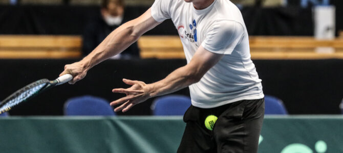 Davis Cup Finland vs. India – Some Practice Session Views