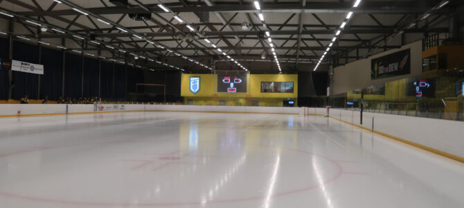 Hertz Deildin Div. 1(Icelandic Ice Hockey League) with Fjölnir Reykjavik at Egilshöll