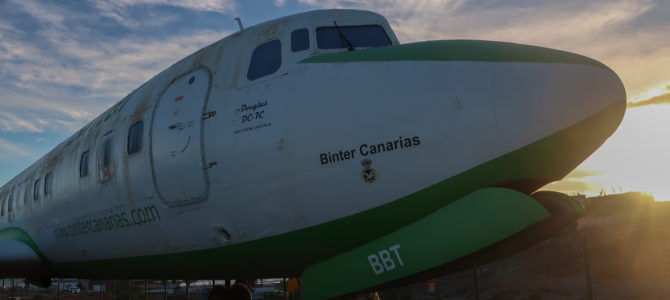 Aviation Monuments on Gran Canaria (Pictured Story)