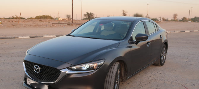 Car Rental Review – Europcar Dubai Int. (DXB) T3 (December 2020) – Mazda 6