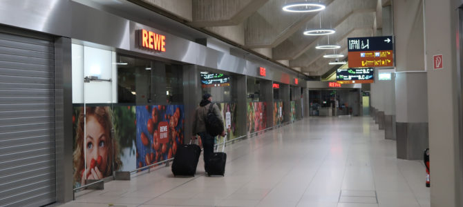 A Walk Through Cologne / Bonn Airport Terminal at Covid-19 Times (Pictured Story)