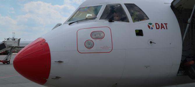 Flying with DAT (Danish Air Transport) from Saarbruecken to Hamburg