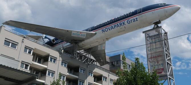 Novapark Airplane Hotel Graz