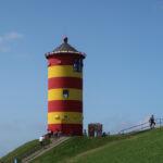 Walking around Pilsum Light Tower (Pilsumer Leuchtturm, Pictured Story)