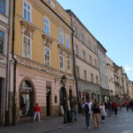 Walking the Ulica Florianska in Krakow to Market Square (Pictured Story)