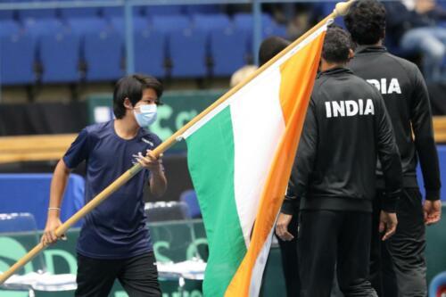 2021-09 Davis Cup Finland - India